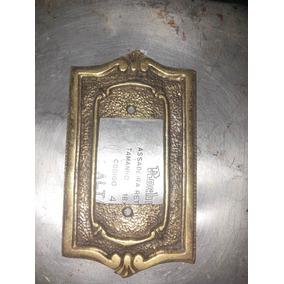 Antigos Espelhos De Bronze Para Comandos Elétricos- Unidade