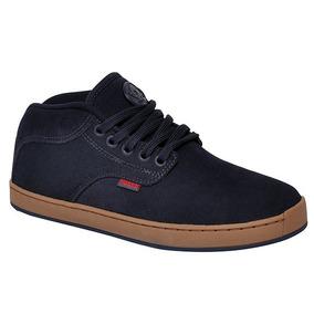 Tênis/bota Masculino Hocks On-3 R4605 Azul Marinho/vermelho