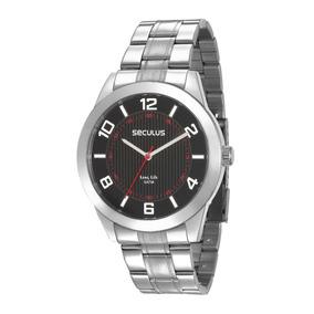 3b258e95ce4 Relogio Seculus Masculino Mod 24749g0sgna2 - Relógios De Pulso no ...