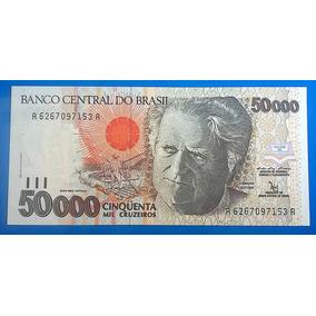 V 9154 Cédula C 226 50000 Cruzeiros 1992 Familia Real