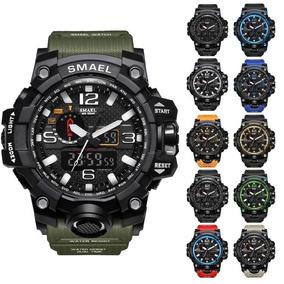 Reloj Militar Smael S Shock Táctico Sumergible Colores
