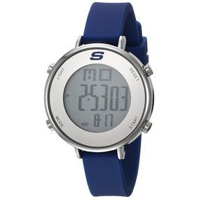Skechers - Reloj Sr6067 Quartz Metal And Silicone Para Mujer
