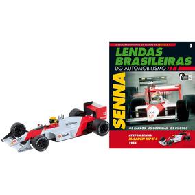Ayrton Senna Mclaren Mp4/4 Honda 1988 San Marino Gp 1:43 Nº1