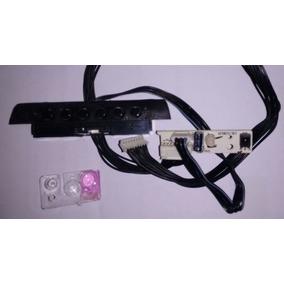 Teclado De Funções + Placa Sensor Do Controle Da Tv Cce C320