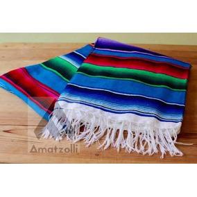 Zarape Artesanal Mexicano En Varios Colores