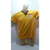 aa9ba77192 Camisa Cbf Meltex - Camisas de Futebol no Mercado Livre Brasil