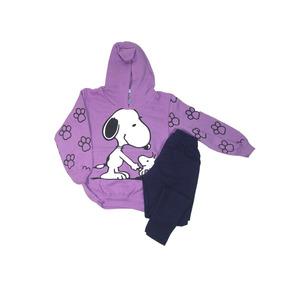 Kit 2 Conjuntos De Blusa+calça Feminino Infantil