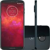Celular Motorola Moto Z3 Play Índigo 64gb Original Garantia