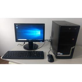 Micro Dualcore 2.60 + Tela Lg Lcd Wide 16 Pol - Windows 10