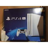 Nueva Blanco Sony Playstation 4 Pro 1 Tb 4k Hdr Tv Sellado