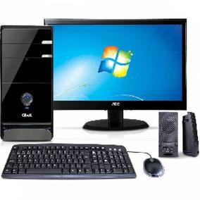 Micro Computadores Cpu Teclado, Mouse E Monitor