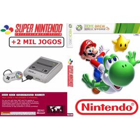Emulador Super Nintendo Para Xbox One +2000 Jogos- Imediato