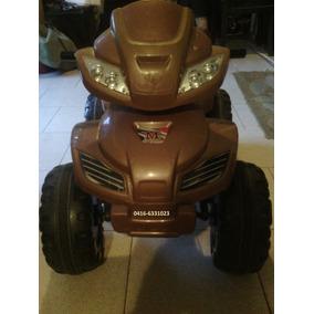 Carro-moto 4 Ruedas Eléctrico Para Niños