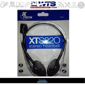 Audífonos Con Micrófono Headset Pc Laptop Xtech Xts220