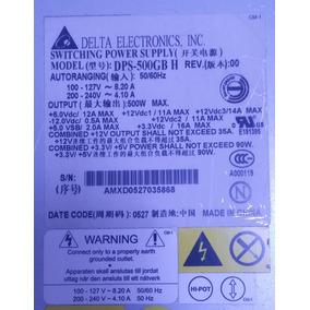 Fonte Delta Dps500gb 500w - Pc - Servidor - Automação