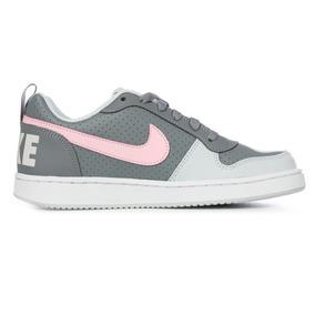 Tenis Nike Court Borough Low Gs Original Dama 845104 008