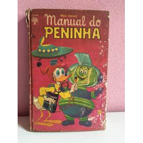 Manual Do Peninha Walt Disney 1973 1ª Edição Antigo