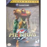 Metroid Prime Gamecube Coleccion