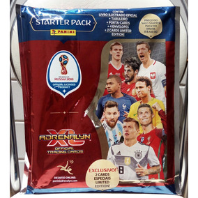 Starter Pack Cards Fifa World Cup Rússia 2018 - Adrenaly Xl