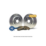 Kit Delantero | 2 Perforadoras De Plata Serie Optimum Rotore
