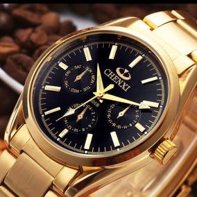 cbf1bbb9193 Relogio Natate Chenxi Golden - Relógios no Mercado Livre Brasil