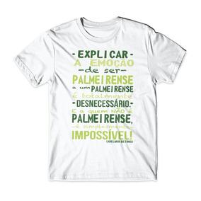56ee47a2f1 Camiseta Infantil Explicar A Emoção De Ser Palmeirense