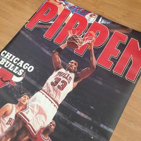 Pôster Vintage - Nba - Scottie Pippen - Chicago Bulls, 1995