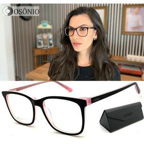Armação Óculos Grau Feminino Osônio Os67 Original Premium 7547b14680