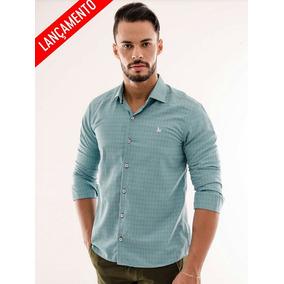 Kit 3 Camisa Social Verson Slim Ml Em Oferta