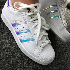 Sapato Adidas Superstar Holográfico - Calçados, Roupas e Bolsas no ... 4b2d3808b48d