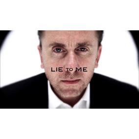 Dvd Lie To Me - A Coleção Dublada Com Caixinhas E Encartes