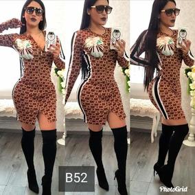 Hermoso Vestido Gucci Calidad Premium Sublimado