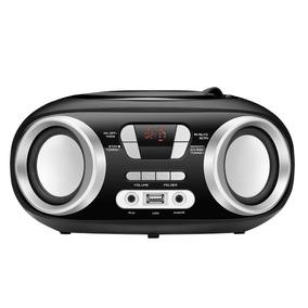 Rádio Portátil Mondial Bx-13 Cd/usb 6w Preto