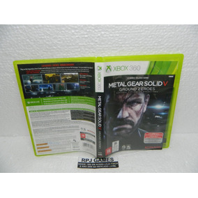 Metal Gear Solid 5 Ground Zeroes Midia Fisica Caixa Xbox 360