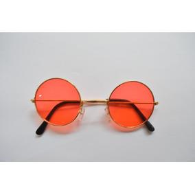 ab64bbf7ac741 Oculos John Lennon Vermelho De Sol Outras Marcas - Óculos no Mercado ...