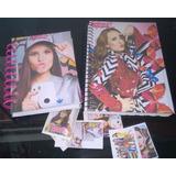 73cec9bacb150 Kit Caderno + Mini Caderno + Adesivos Larissa Manoela 487453