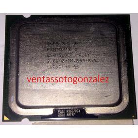 Procesador Pentium D 820 2.8ghz Bus 800 Socket 775