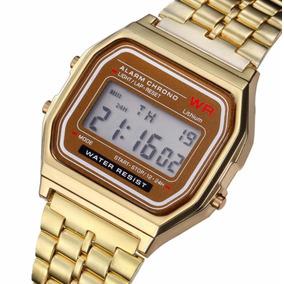 27f9c67702f Relogio Wr Digital Feminino Dourado - Relógios De Pulso no Mercado ...