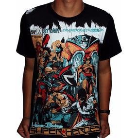 Camiseta Desenhos Antigos Hanna Barbera Super Heroes - Full 59b2053593f29