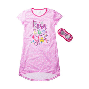 Pijama/bata Niña Con Antifaz Born To Be A Star Talla 7-8