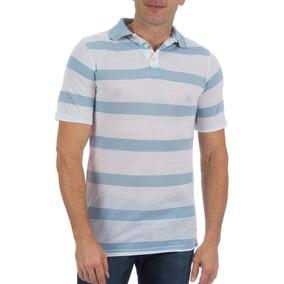 Camisa Polo Colombo Masculina Azul Listrada 41155 por Camisaria Colombo 45cdb3c6b09