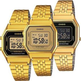 cbaea97a7150 Reloj Casio Vintage Dorado Original Dama - Reloj de Pulsera en ...