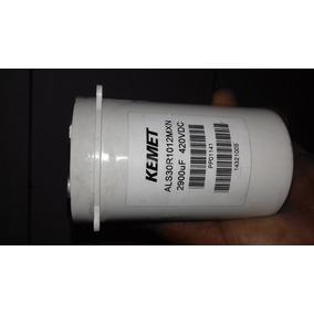 Capacitor Kemet 2900uf 420vdc Super Poderoso
