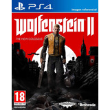 Wolfenstein 2 The New Colossus / Juego Físico / Ps4