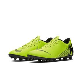 Chuteira Nike Campo Preta verde Limão - Chuteiras Nike no Mercado ... e62ff4767aefa