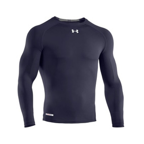 2147b4b1b8 Camisa under Armour Heatgear Sonic Compression Navy