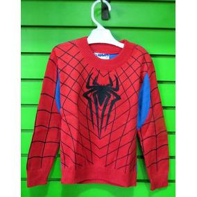 Chompas De Hilo - Spiderman - 8 Y 10 Cod. Ern 116