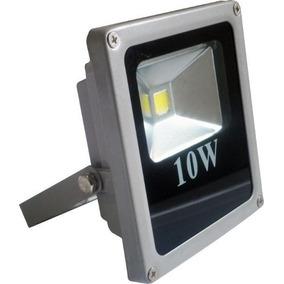 Refletor Holofote Led 10w Branco Frio Bivolt 10 Peças