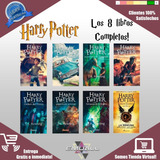 Harry Potter 8 Libros Completo Español + 3 Sorpresas Digital