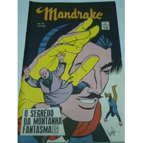 Mandrake Nº 169 /1970 Cores Segredo Da Montanha Fantasma Rge
